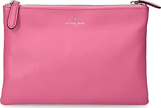 Philippe Model Handtasche CHOLET Kalbsleder Logo rosa