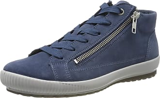 Legero Womens Tanaro Hi-Top Trainers, Blue Indaco Blue 86, 5 UK