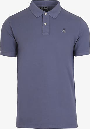 Scalpers Basic Polo Shirt With Skull