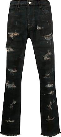 424 Gerade Distressed-Jeans - Blau