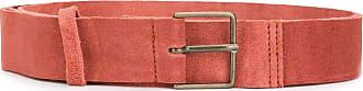 Forte_Forte suede belt - Red