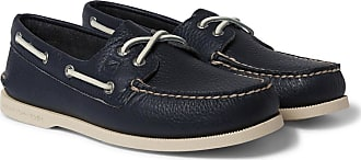 Sperry Top-Sider Authentic Original Leather Boat Shoes - Navy