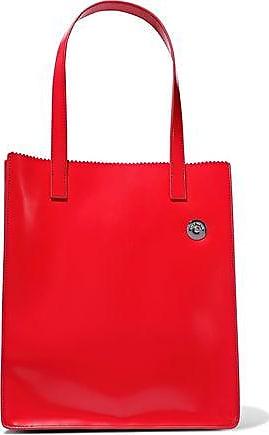 d3470af5b7dd Kara Kara Woman Multi Pinch Glossed-leather Tote Red Size