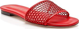 Tamara Mellon Glide Red Capretto Sandals, Size - 35.5
