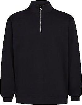 Woolrich American Half Zip Sweatshirt Schwarz - M