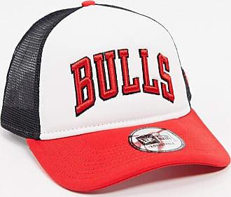New Era Chicago Bulls trucker cap-White