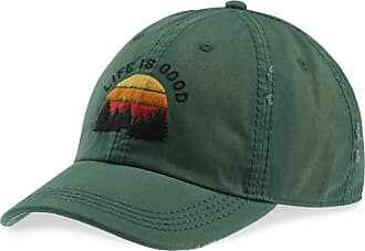 Life is good Outdoor LIG Sunwashed Chill Cap OS Forest Green