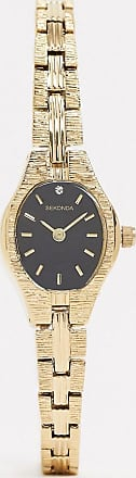 Sekonda expandable watch in gold 19mm