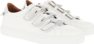Givenchy Sneakers - Mirror Effect Sneakers Leather White Silver - white - Sneakers for ladies