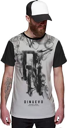 Di Nuevo Camisa Smoke Preta e Branca Swag