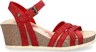 Panama Jack Womens Sandals Vera Cork Basics B3 Tejido Rojo/Red 37 EU