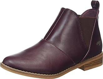 d1096a4a11c1b4 Rocket Dog Damen Maylon Chelsea Boots Rot Burgundy