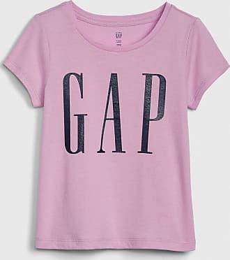 GAP Blusa GAP Logo Lilás