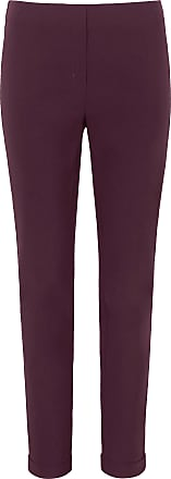 Peter Hahn Ankle-length pull-on trousers Sylvia fit Peter Hahn red