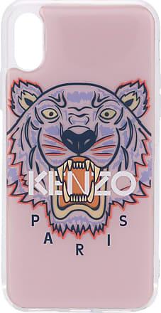 Kenzo Capa para iPhone X/XS com estampa de tigre - Rosa
