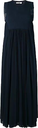 Jil Sander flared maxi dress - Blue