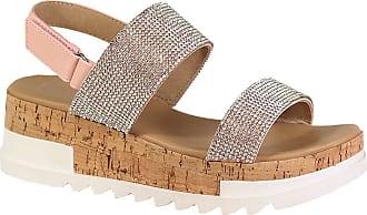 Yoki Womens BRENDA-19 Heeled Sandal, Blush, 4.5 UK