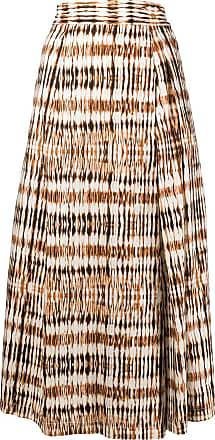 Barena abstract print culottes - Brown
