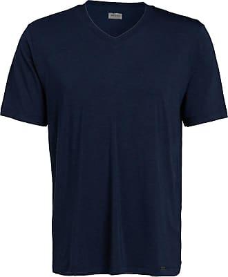 Hanro V-Shirt CASUAL - DUNKELBLAU