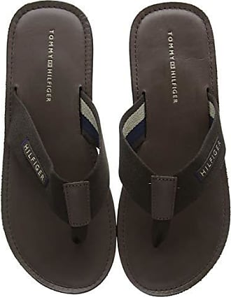 5a07e7344e Tommy Hilfiger Herren Elevated Leather Beach Sandal Zehentrenner