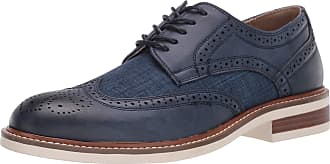 Unlisted by Kenneth Cole Mens UMF902926 Jimmie Lace Up Wt Blue Size: 6.5 UK