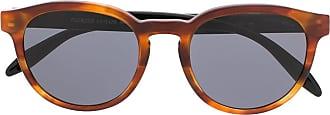 Giorgio Armani Óculos de sol oval - Marrom