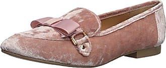 Qupid Womens REGENT-11 Loafer Flat, Pink, 6 M US