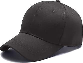 Yidarton Baseball Cap Polo Style Classic Sports Casual Plain Sun Hat(Dark Grey)