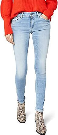 Replay Damen Straight Jeans JACKSY Grau (Light Grey Denim 10