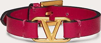 Valentino Garavani Valentino Garavani Bracciale Vlogo Signature In Vitello Donna Blossom 100% Pelle Di Vitello - Bos Taurus OneSize