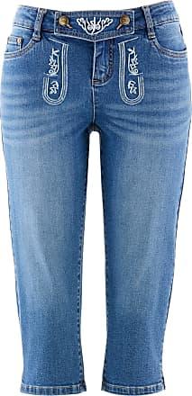 Bonprix Dam Folkdräktsinspirerade jeans med broderi 357b172db4bda