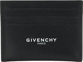 Givenchy Porta-cartões em couro - Preto