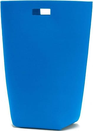 Hey-Sign Filz-Wäschekorb - blau/Filz/5mm/LxBxH 35x27x69cm
