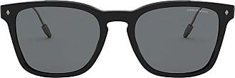 Giorgio Armani Óculos de sol quadrado - Preto