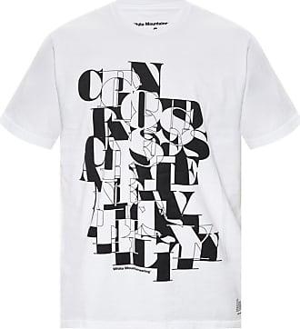 White Mountaineering Logo-printed T-shirt Mens White