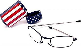 Foster Grant Gideon USA 1014115-200.FGU Rectangular Reading Glasses,Blue,2
