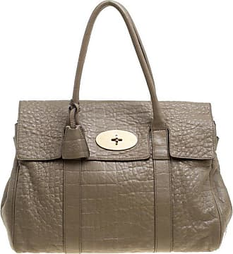 Mulberry Khaki Brown Leather Bayswater Satchel 9dc496a185bf0