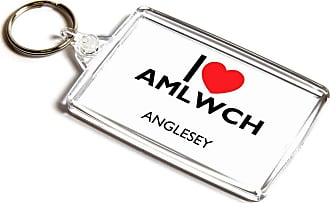 ILoveGifts KEYRING - I Love Amlwch - Anglesey - Wales