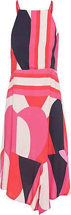 Shoulder Vestido Cava Americana Lenço - Rosa