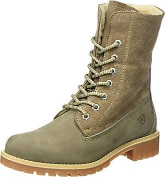 08ee443e309ce9 Tamaris Damen 26443 Combat Boots Braun (Taupe) 36 EU