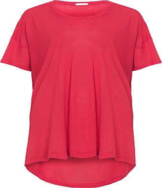 Canal T-shirt Ampla Casual Canal - Vermelho