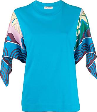 Emilio Pucci Camiseta mangas amplas - Azul