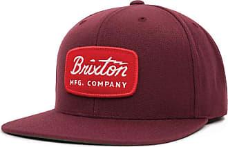 5d700b6262f67 Brixton Mens JOLT Medium Profile Adjustable Snapback HAT Dark Burgundy