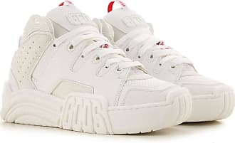 GCDS Sneakers for Women On Sale, White, Leather, 2019, 3.5 4.5 5.5 6.5 7.5