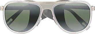 Vuarnet Óculos de sol quadrado Glacier 1315 - Branco