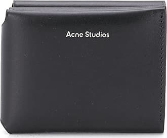 Acne Studios trifold wallet - Black