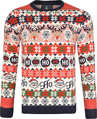 KNITTING PATTERN Mens Fair Isle Christmas Jumper Snowflake Snow Sweater Chunky
