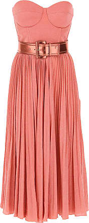 Elisabetta Franchi Dress for Women, Evening Cocktail Party On Sale, Peony, Viscose, 2017, 6