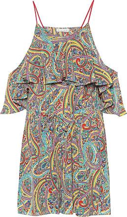 Etro Printed silk playsuit