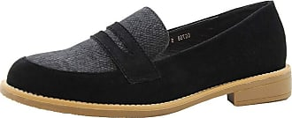 Saute Styles Ladies Womens Casual Buckle Low Heel Loafers Work Office Pumps School Shoes Size 8